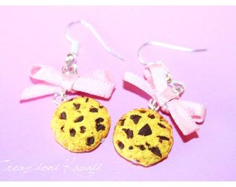 Cookies 🍪✨ Kawaii Polymer Clay Earrings
