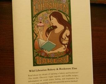 Wild Librarian Bakery & Bookstore Zine