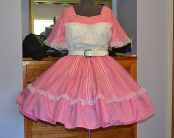 Square Dance skirt and top.Ladies plus size