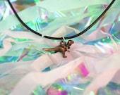 Velociraptor Dinosaur Necklace Dinosaur Choker / Velociraptor Necklace Raptor Choker / Pastel Goth Necklace 90s Grunge Choker Vintage Loser