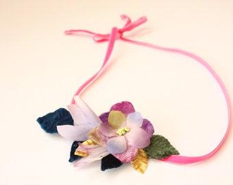 Floral headband. Vintage flower headband.  Wedding headband. Festival headband. Hair flowers. Boho wedding. Bohemian headband. Boho headband