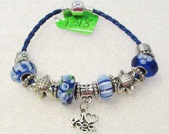 1318 - NEW - Yoga Bracelet