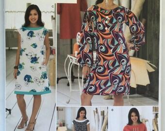 Simplicity 2968 Sew Stylish Tunic Pattern in sizes 14,16,18,20,22 uncut