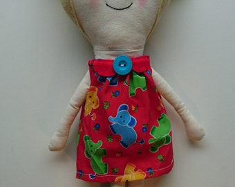 Little Cloth Dolly - Personalise Name