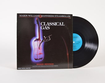 "Mason WILLIAMS & MANNEHIM STEAMROLLER - ""Classical Gas"" vinyl record"