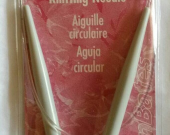 "Susan Bates Circular Knitting Needles Size 13 ~ 9 mm ~ 29"""