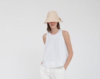A shirt- White stripes elegant top