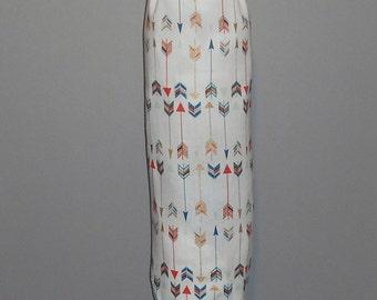 Grocery Bag Holder - Plastic Bag Holder -  Bag Dispenser - Arrows - Multi Color