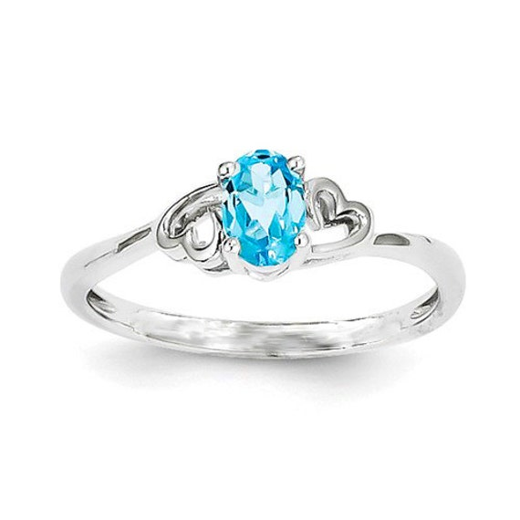 swiss blue topaz ring promise rings for by gopalsjewelry