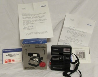 Polaroid 600, Business Edition Camera, Made in the UK, 1980's