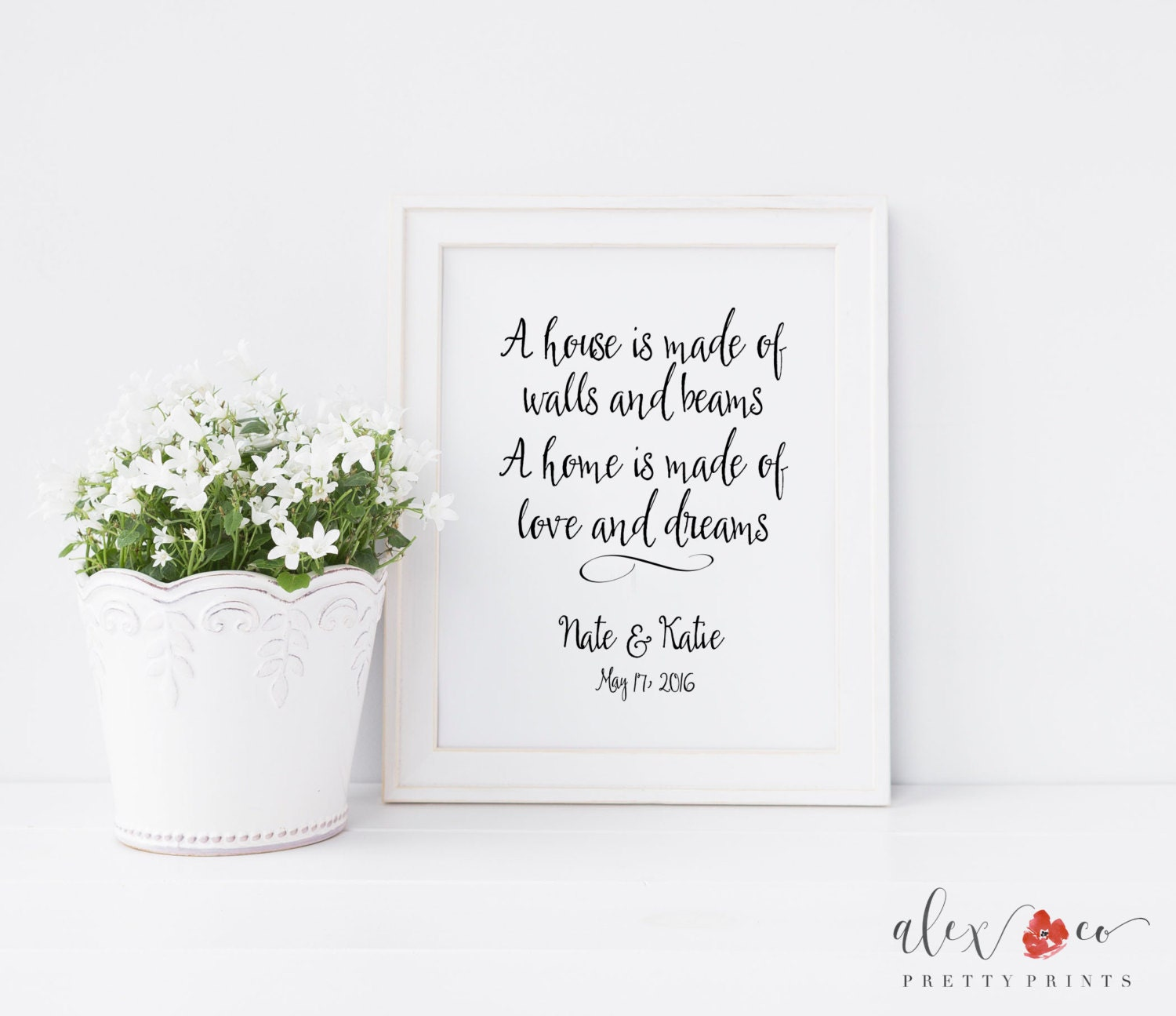 Personalized Wedding Gift. Wedding Quotes. Bride And Groom
