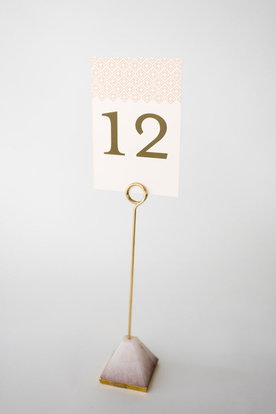 stella table numbers (double-sided)  //  lola louie paperie