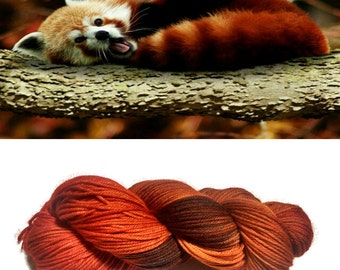 Red Panda on Plush DK
