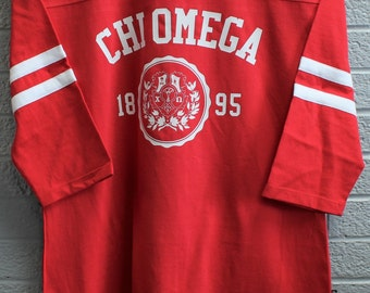Vintage Inspired Football Jersey with Crest Design
