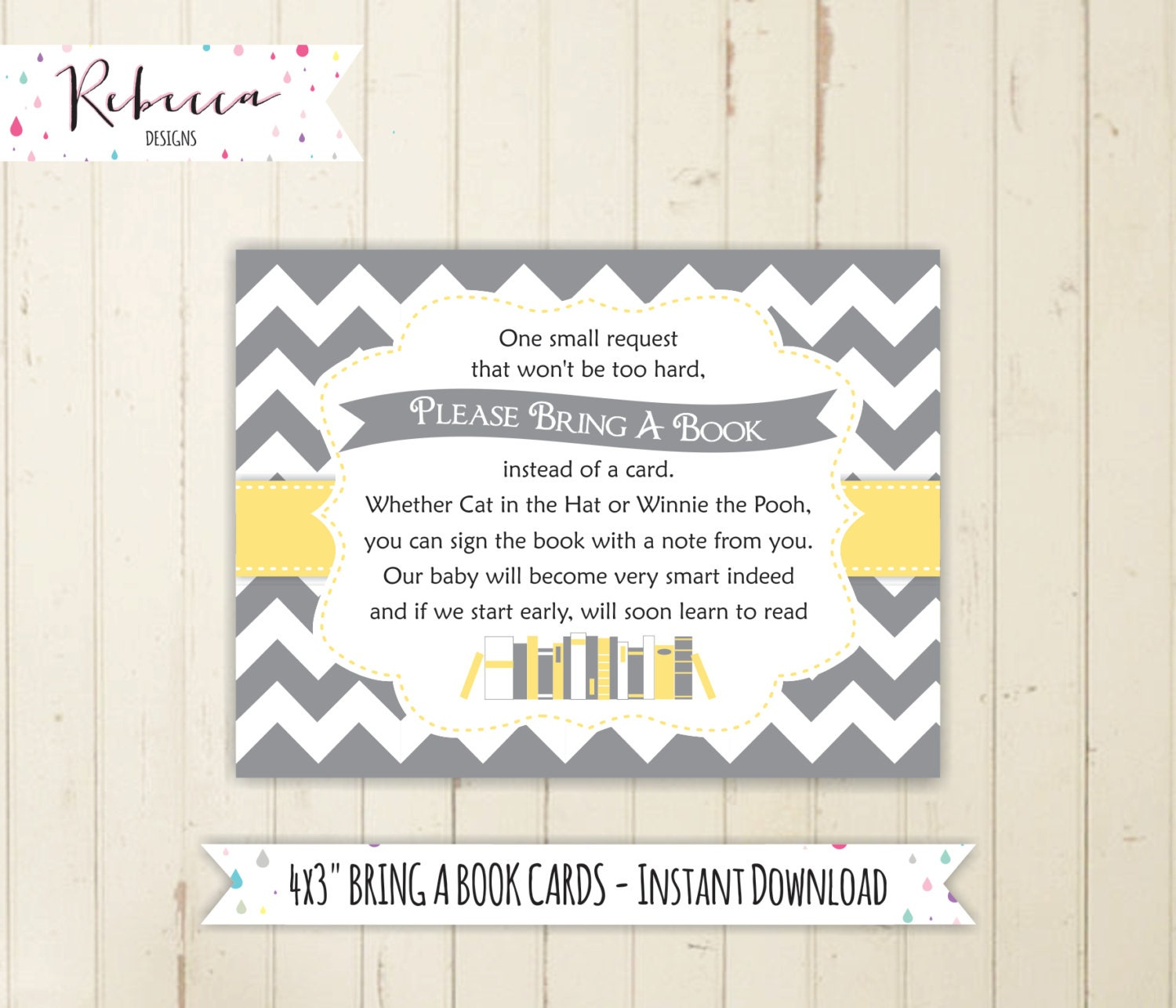 book request baby shower bring a book instead of a card baby