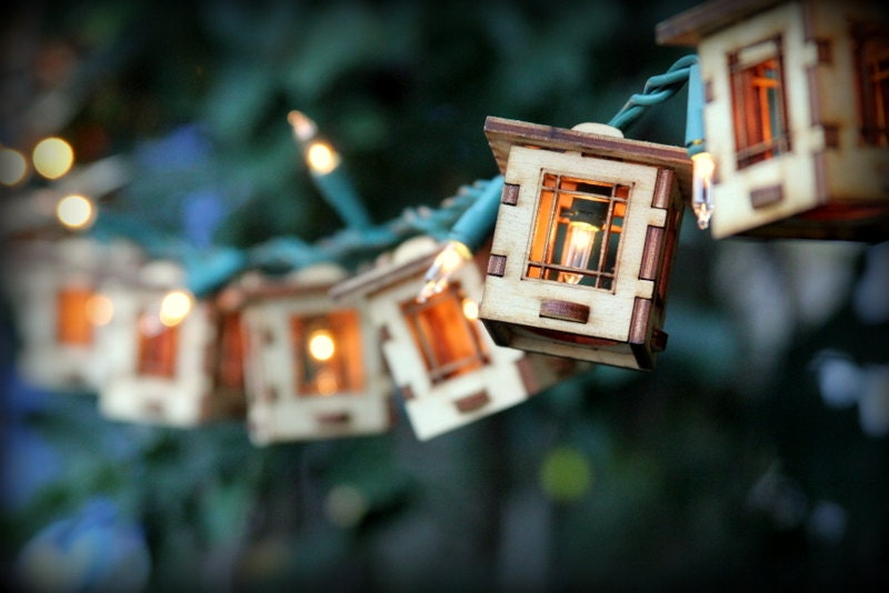 Outdoor String Lights Etsy : Patio String Lights. Electrolites Craftsman Style Bungalows.