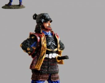 Action Figurine - The Noble Japanese Samurai 1/32 Miniature Hand Painted 54mm Toy Soldiers