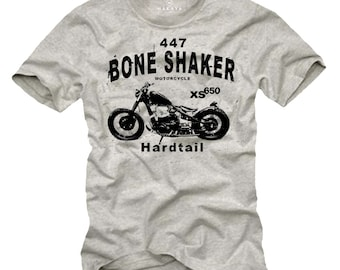Gift Mens - Motorcycle T Shirt XS650 Cool Funny Fancy Print Graphic Tees S-XXXL