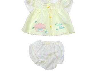 Vintage Girl's Two Piece Outfit