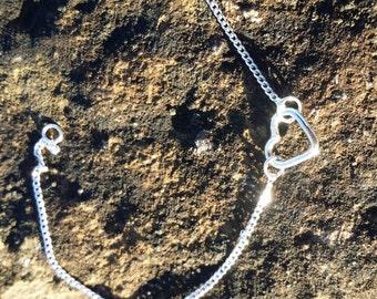 Petite silver bracelet