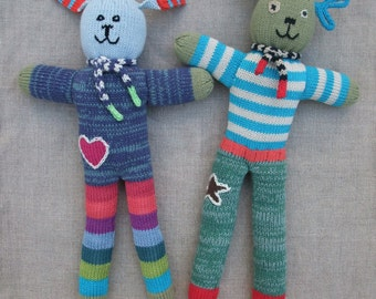 nelly noodle knitted toys