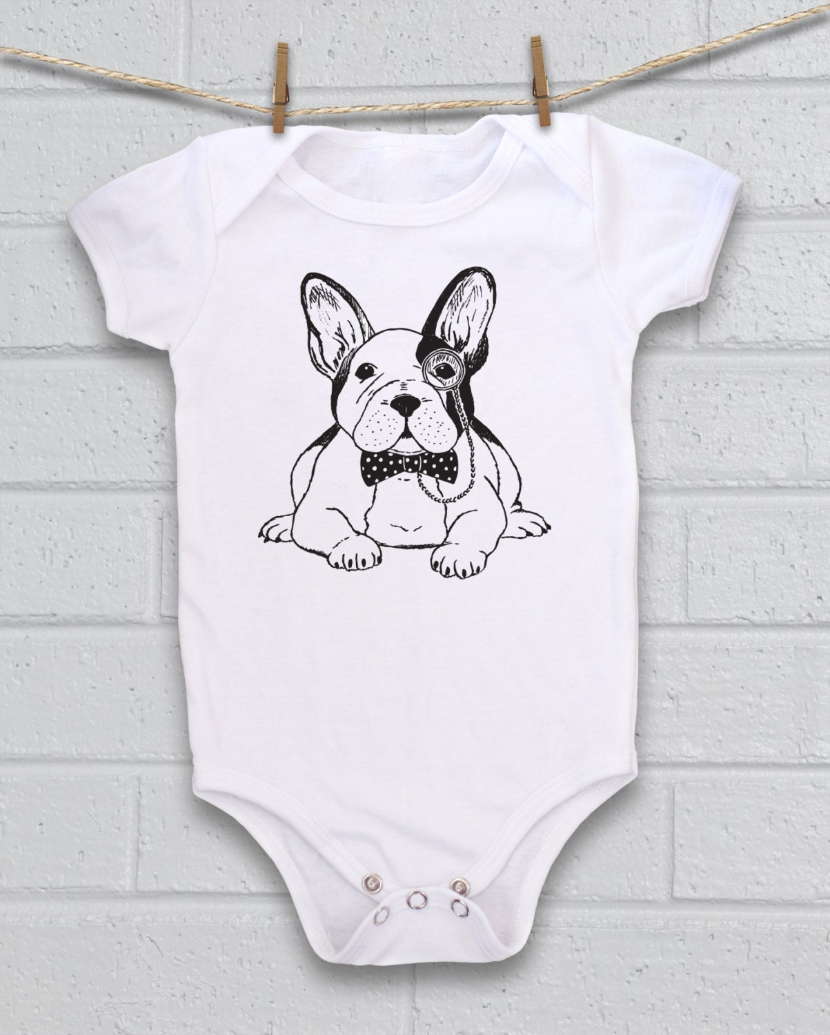 french bulldog baby clothes french bulldog baby cute baby bodysuit unique baby clothes 1010