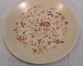 Temper-ware Merriment Bread & Butter/ Dessert Plates, Lenox, Vintage, Collectible, Retired, Floral