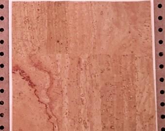 Extra - Corck back glued on tile