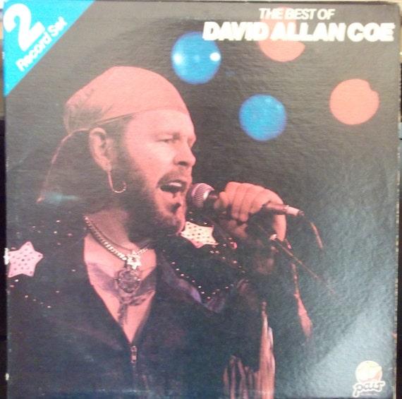The Best Of David Allan Coe Vintage Record Album Vinyl Lp