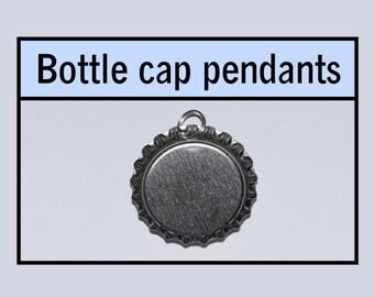Bottle caps pendants