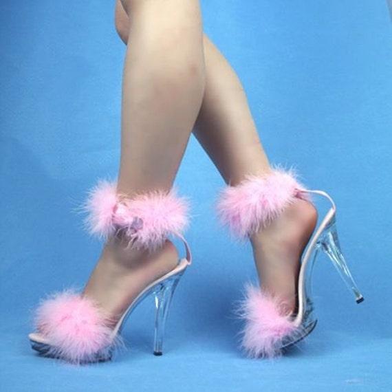 Items Similar To Vip 5 Inch Handmade Baby Pink Marabou Boa