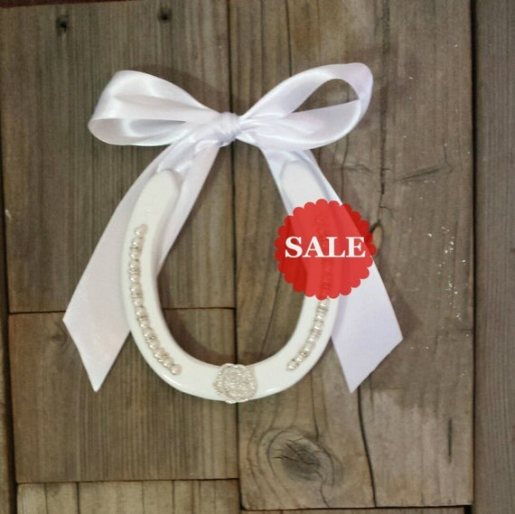 Horseshoe Wedding Gift: SALE Wedding Horseshoe Wedding Gift Unique By