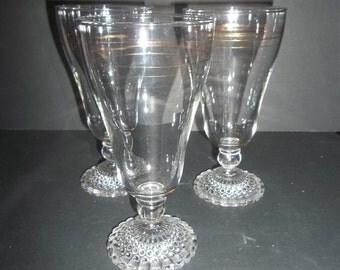 Iced Tea, Water Glasses