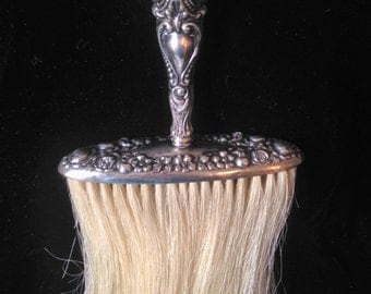 Antique Sterling Silver Clothes Brush