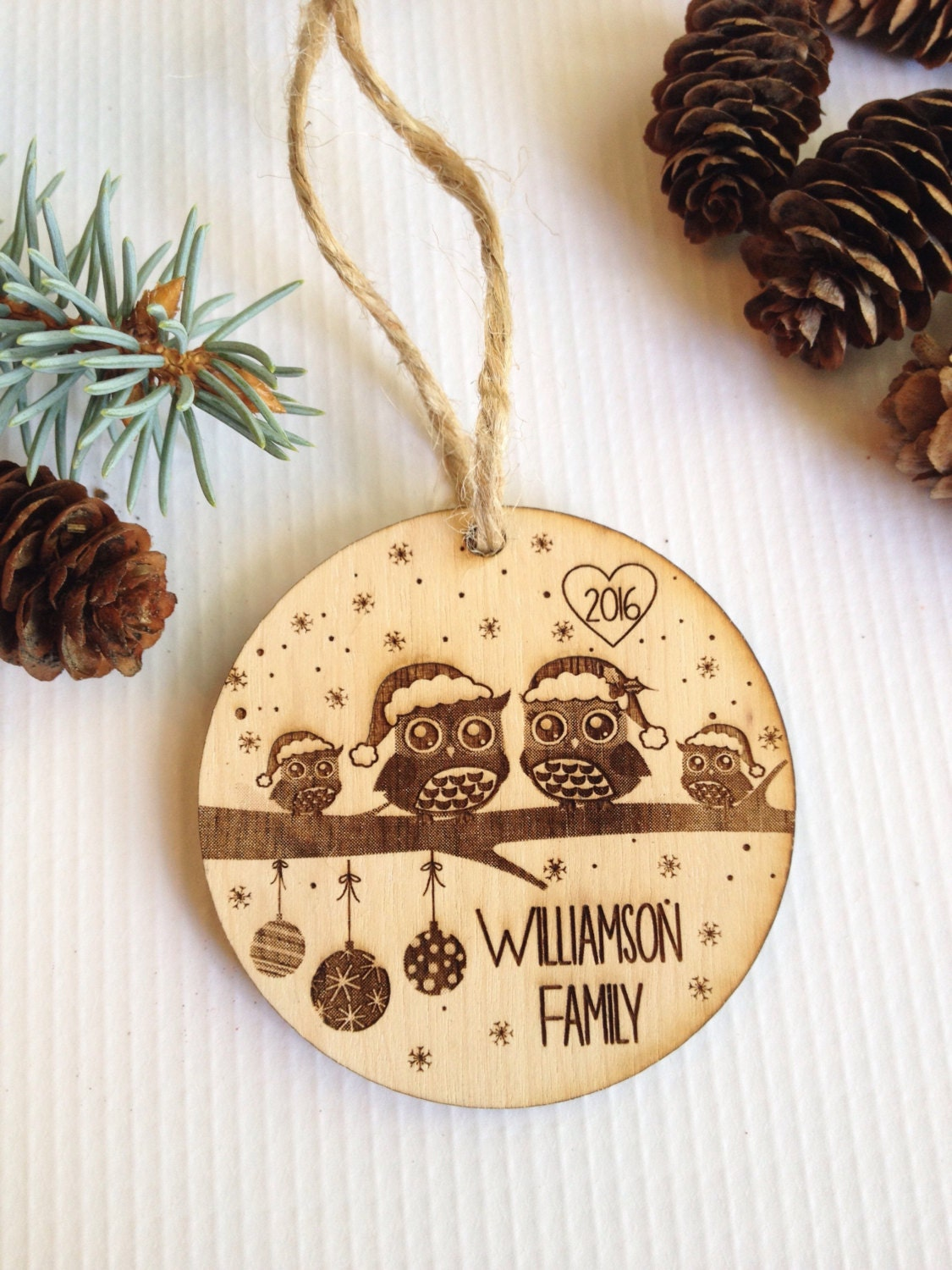 personalized christmas ornaments personalized ornament engraved ornament 11867