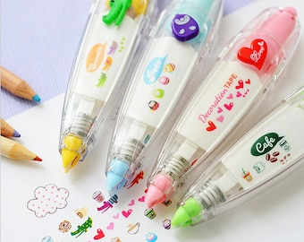 Cute decorative correction tape pen / Deco pen