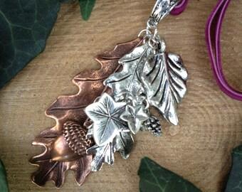 Bundle of Leaves Pendant