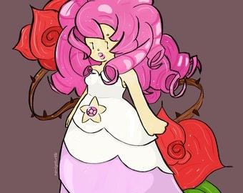 Rose Quartz Steven Universe print