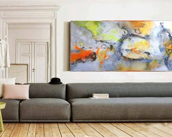 Original abstract acrylic painting, Large wall art canvas, Modern Art Abstract Painting, Acrylic painting on Canvas, Original art