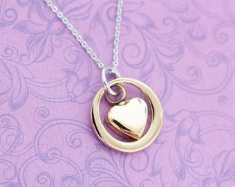 Gold Stainless Memorial Pendant - Cremation Jewelry - Engraved Jewelry - Urn Necklace - Pet Memorial - Ash Necklace