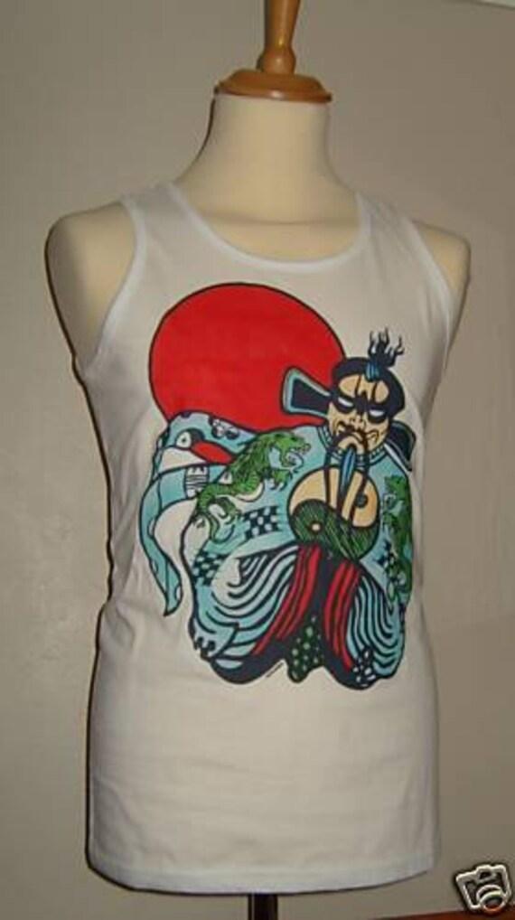 Fu manchu vest big trouble in little china jack burton for Big trouble in little china jack burton shirt