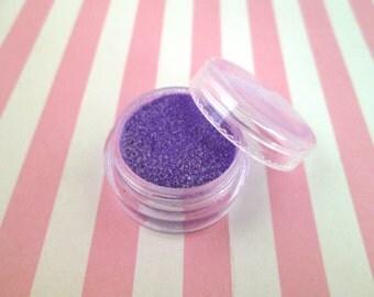 Ultraviolet kawaii fake Faux sugar sprinkles / 8 grams,  good for fake cookies and desserts