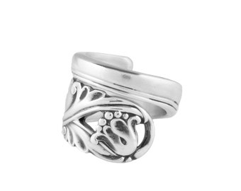 Spoon Ring, Silver Spoon jewelry, Vintage ring, Handmade ring, Spoon Jewelry, Sterling spoon ring