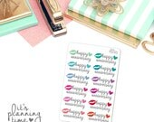 Happy Anniversary Planner Stickers- 12 count