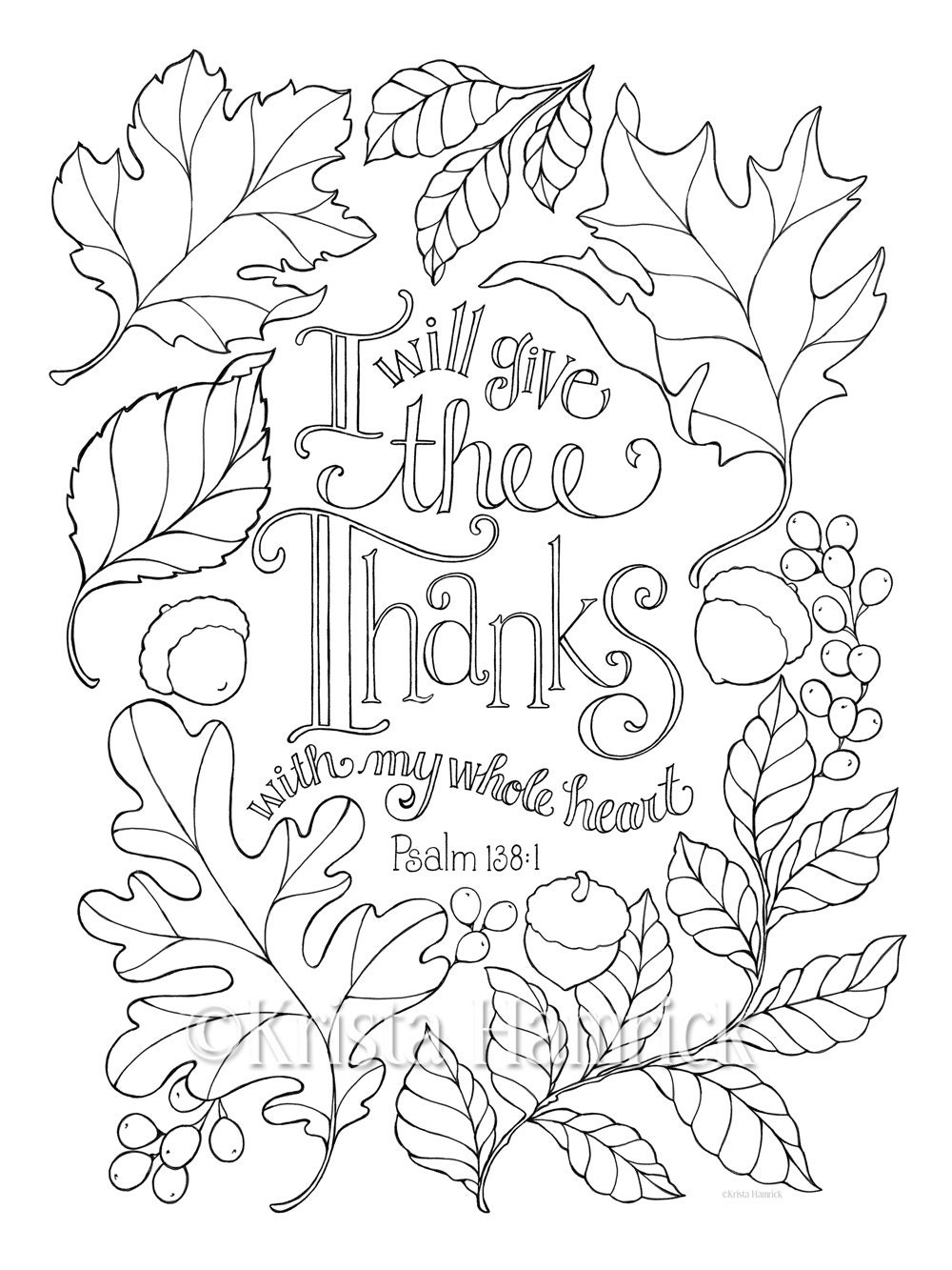 My Whole Heart Coloring Page In Two Sizes 8 5x11 And Bible