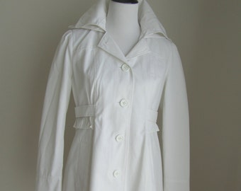 GUESS trench coat with removable button-close hood Size M(US)