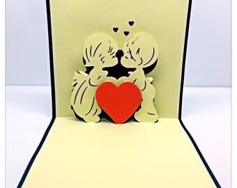 3D Pop Up Love Card