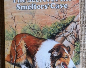 Vintage Children's Book: LASSIE The Secret of the Smelters' Cave Published by Target Books 1978