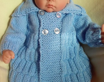 Baby boy coat & hat set