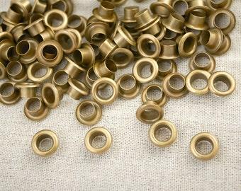 12 mm x100Sets Hole round Eyelets / Antique Brass / Grommet / Eyelet / Round Eyelet with Washers